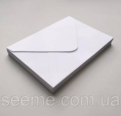 Конверт 205x140 мм, цвет белый