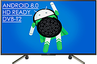 "Телевизор Sony 32"" Smart TV Android 8.0/WiFi/HD Ready/DVB-T2/"