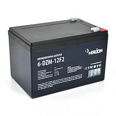 Аккумулятор для детского электромобиля AGM MERLION 6-DZM-12 F2, 12Вольт, 12Ач.