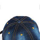 Джинсова бейсболка модная кепка, фото 4