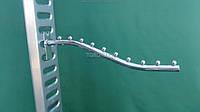 Флейта Кронштейн  Труба - волна  10 шариков на торговую  сетку  45 см  Китай