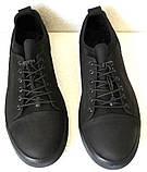 Mante Pro! Универсальные детские кожа нубук  кеды спортивные туфли на шнурках  резинках, фото 3