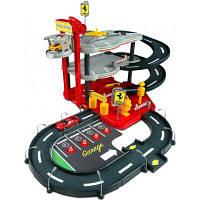 Ігровий набір Bburago Гараж Ferrari (3 уровня, 2 машинки 1:43) (18-31204)