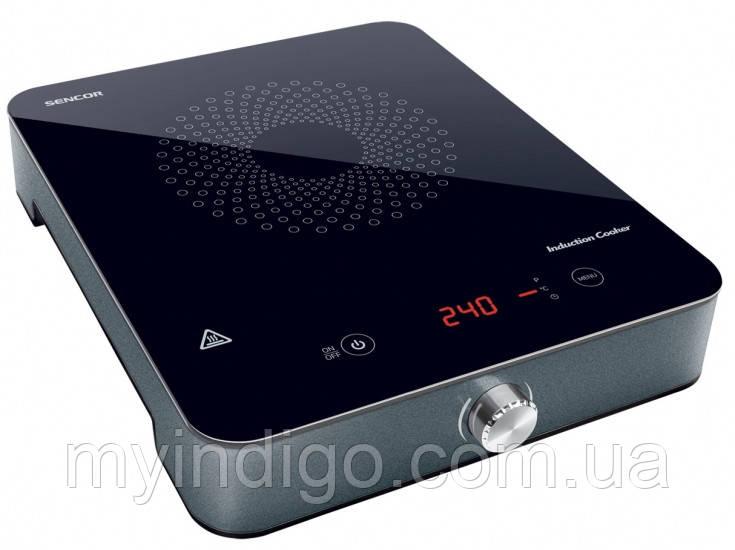 Индукционная электроплитка 1800 вт. Sencor SCP 3201 GY