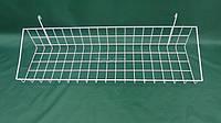 Корзина на сетку (90х20)н\ борт 3,5 см, белая