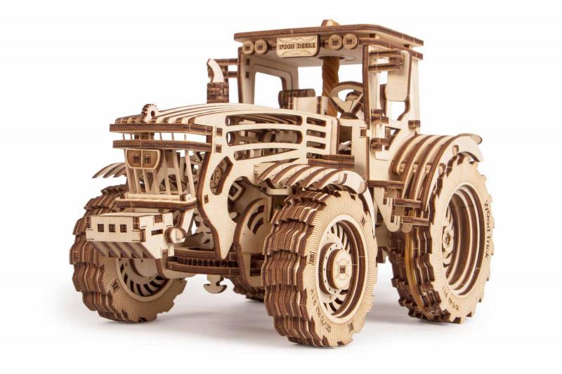 3D пазл из дерева «Трактор» 401 деталь