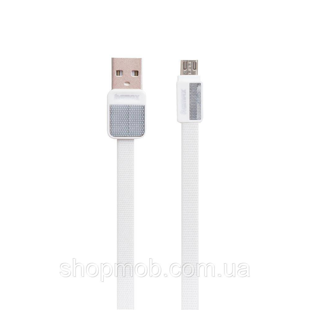 USB кабель для зарядки Remax RC-044m Platinum Micro Цвет Белый