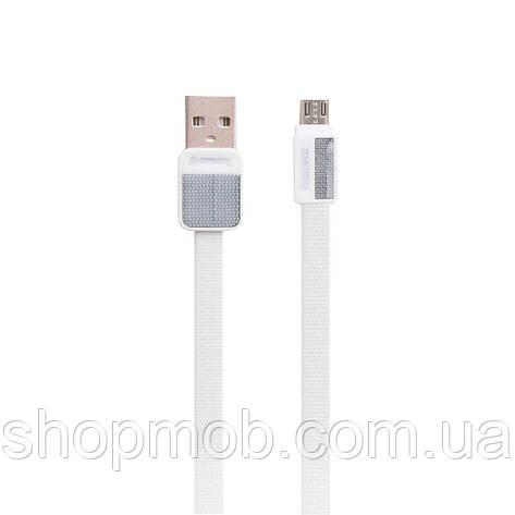 USB кабель для зарядки Remax RC-044m Platinum Micro Цвет Белый, фото 2