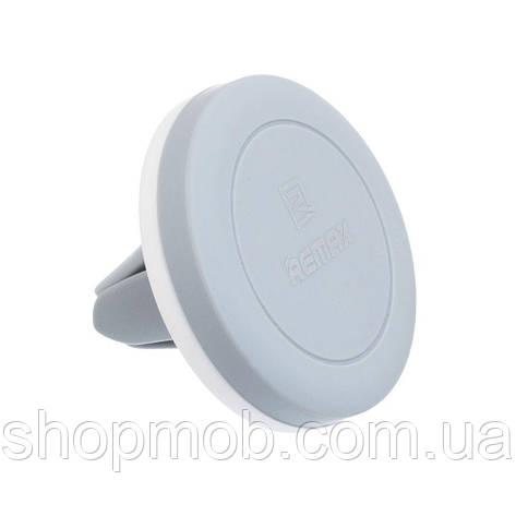 Автомобильный держатель для телефона Remax RM-C10 Цвет Бело-Серый, фото 2