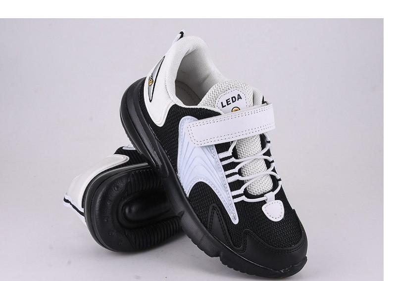 Кроссовки детские черные,детские кроссовки для мальчика Violeta 200-97black-white