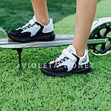 Кроссовки детские черные,детские кроссовки для мальчика Violeta 200-97black-white, фото 2