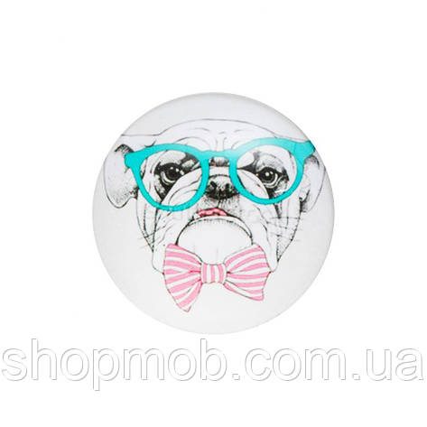 PopSockets Smile Цвет Dog with glasses Y532, фото 2