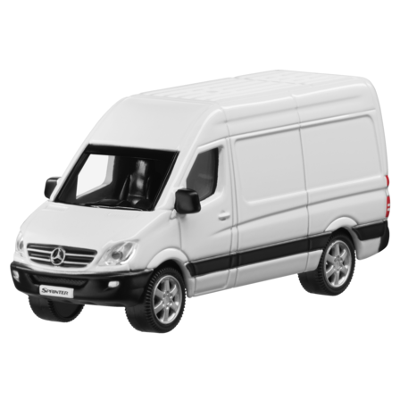 Модель Mercedes-Benz Sprinter, White Arctic, Scale - 3 inch, артикул B66004093
