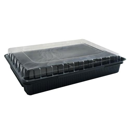 Упаковка для суши дно + крышка ПС-61 - 20 шт.