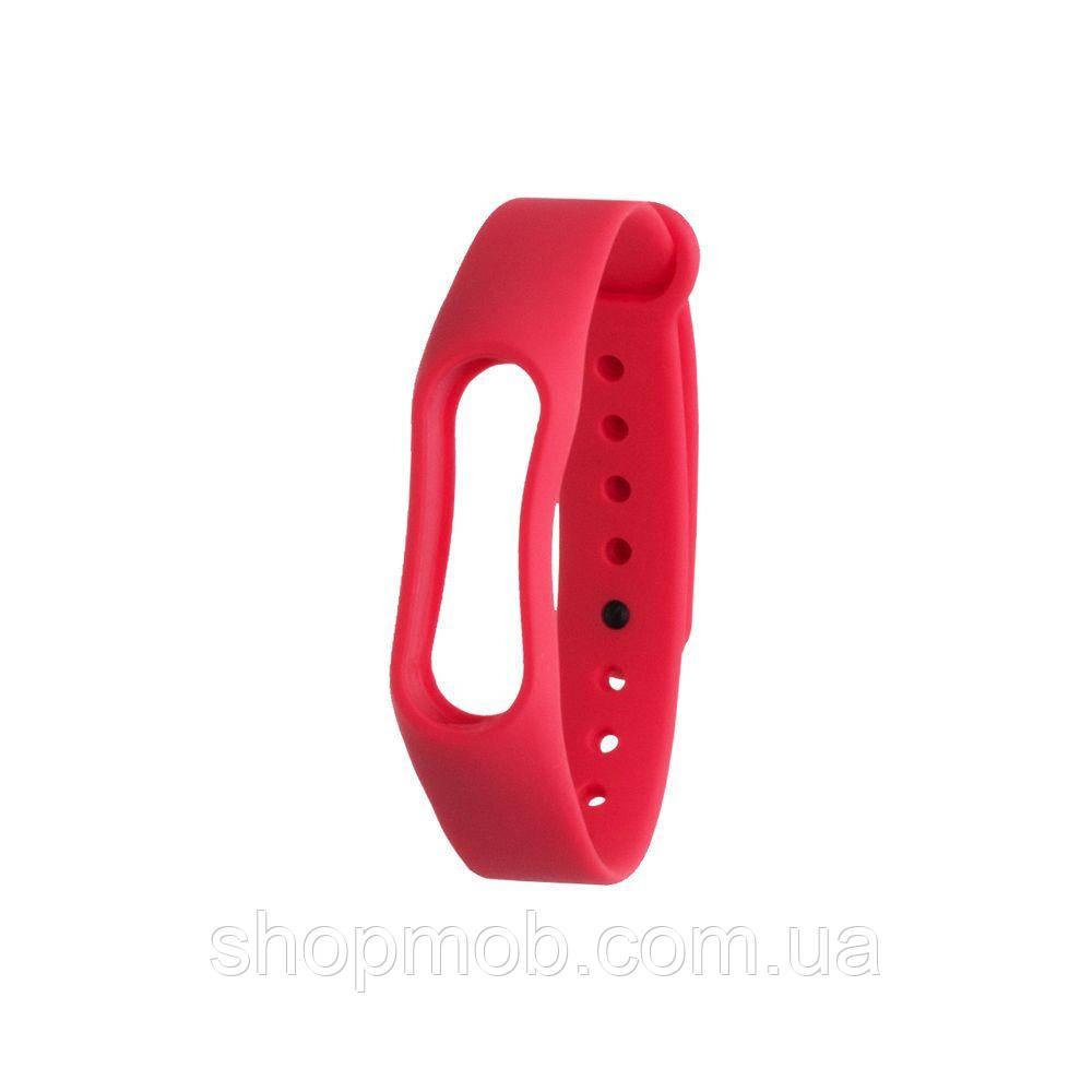 Ремешок для Xiaomi Mi Band 2 Original Design Цвет Красный