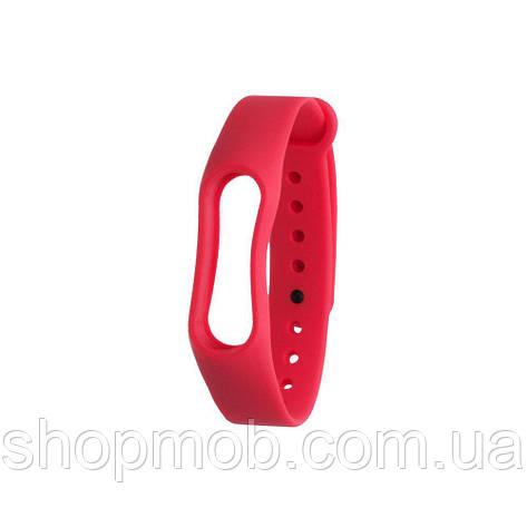 Ремешок для Xiaomi Mi Band 2 Original Design Цвет Красный, фото 2