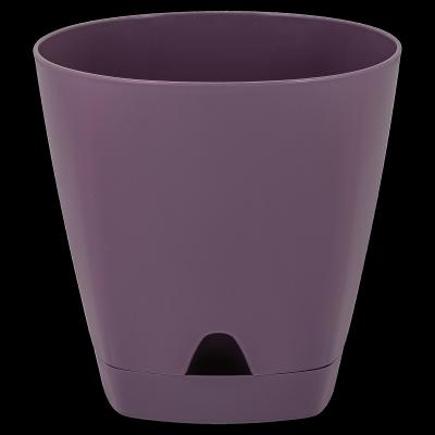 Горшок для цветов AMSTERDAM D 170 с прикорневыми поливом 2,5 л Морозная слива, фото 2