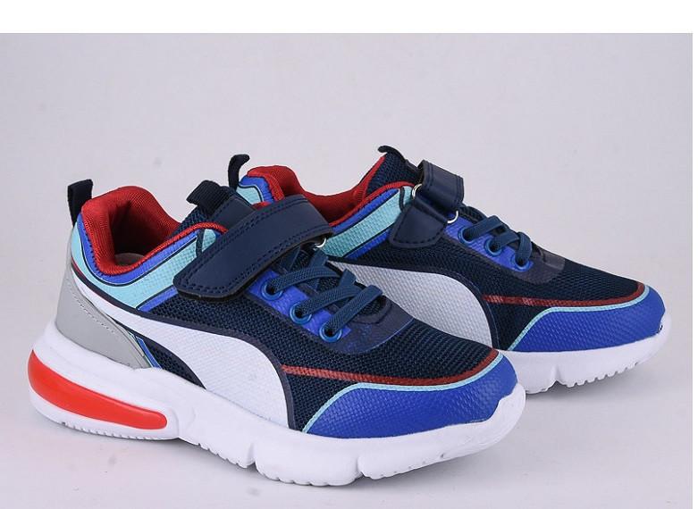 Кроссовки детские синие,детские кроссовки для мальчика Violeta 200-114blue