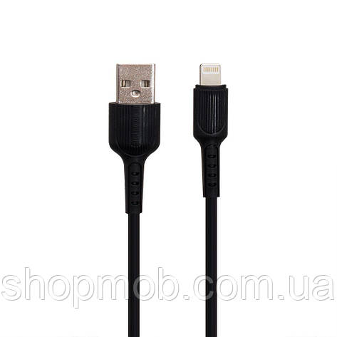 USB Borofone BX16 Lightning Цвет Чёрный, фото 2