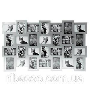 Фоторамка Collage 28, серая