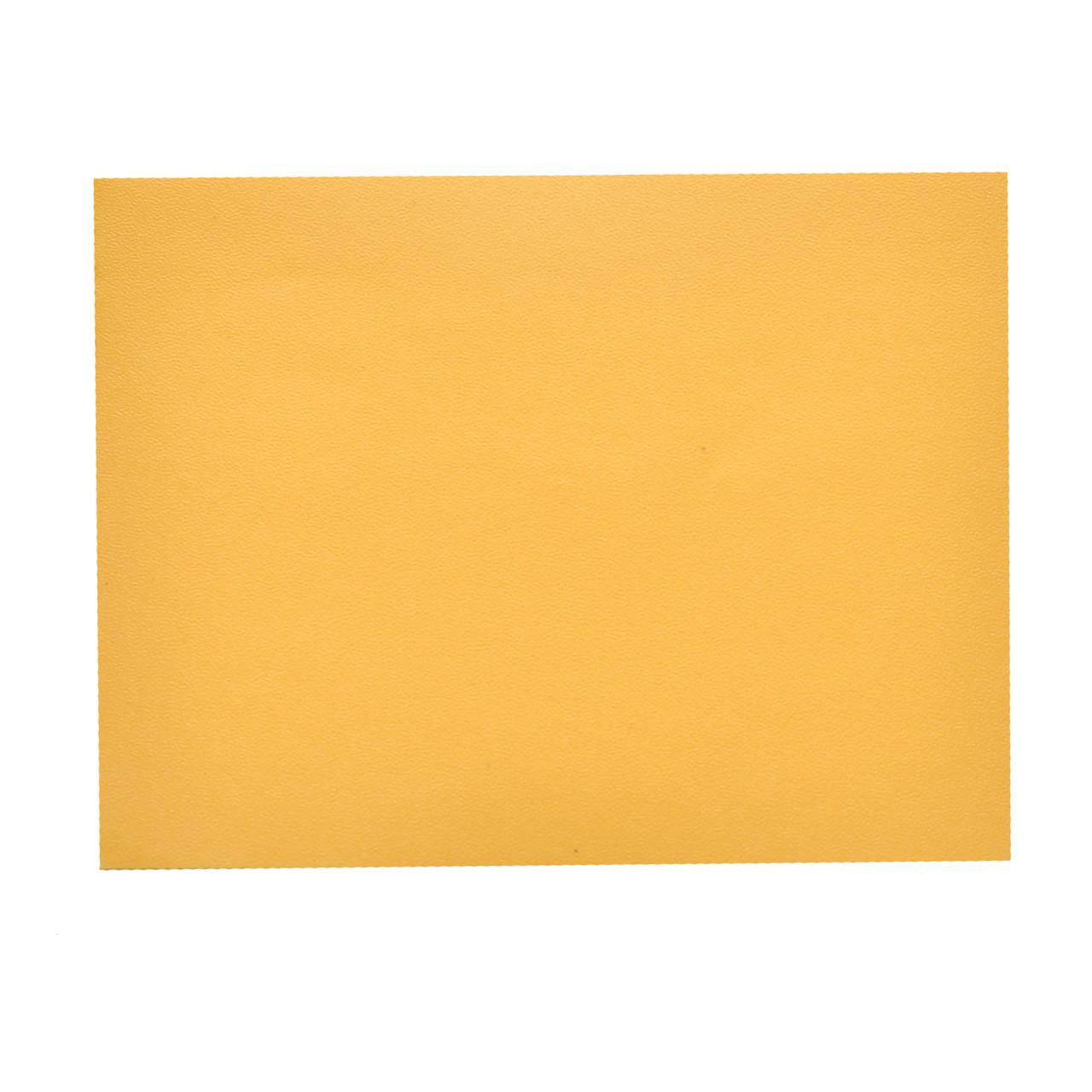 Структурная матовая пленка желтая