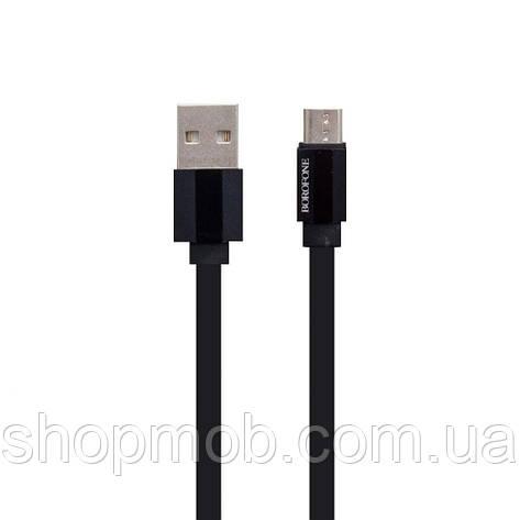 USB Borofone BU8 Glory Micro Цвет Чёрный, фото 2