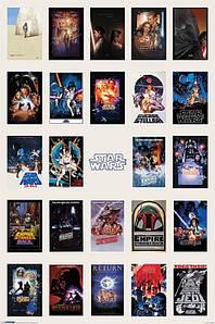 "Постер ""Star Wars / Звёздные войны"""
