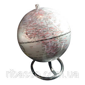 "Invotis Глобус настольный ""Globe Silver"""