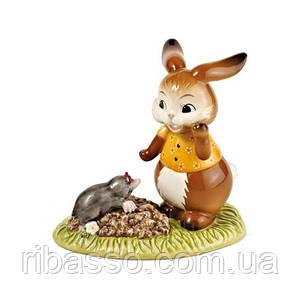 """Статуетка """"Кролик з кротом"""""""