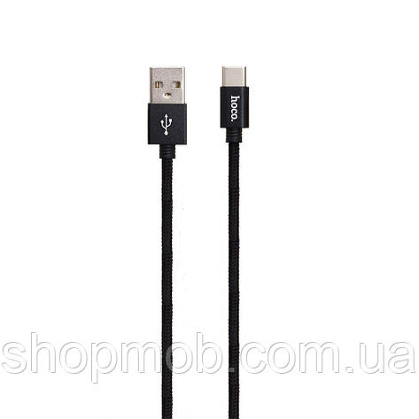USB Hoco X35 Premium Charging Type-C 0.25m Цвет Чёрный, фото 2