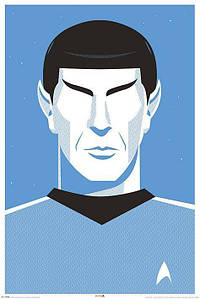 "Постер ""Star Trek (Pop Spock) - 50th Anniversary"""