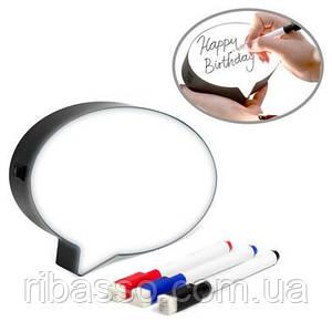 Набор Balvi для заметок Bubble with light с подсветкой