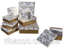 Коробка подарочная Gold 10 х 10 х 8 см