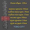 Дисплей  Стенд  полоса  навесной для колгот 7 ячеек   Украина