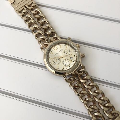 Наручные часы Michael Kors Sequence Gold-Gold