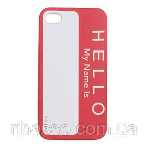 "Чехол для iPhone 4/4S ""Hello"""