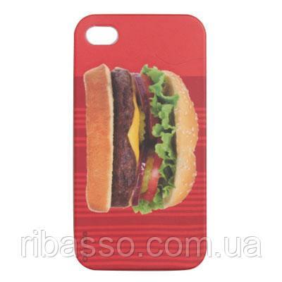 "DCI Чехол для iPhone 4/4S ""Гамбургер"""