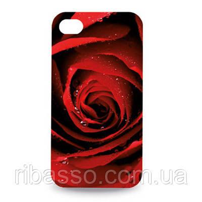 "Hi-Fun Чехол для iPhone ""Rose"" 4 G"