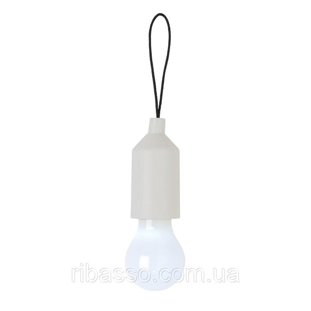 Брелок-лампочка белый