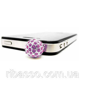"Аксессуар для Iphone ""Plugo Crystal Ball"", розовый"