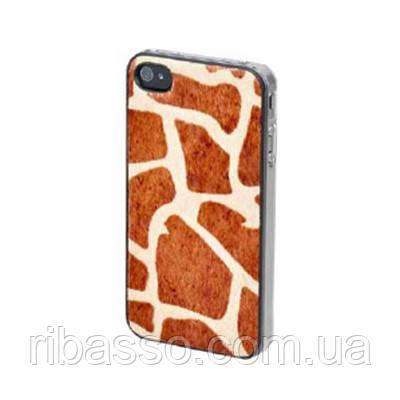 "BENJAMINS Крышка для Iphone 4S ""Giraffe"""
