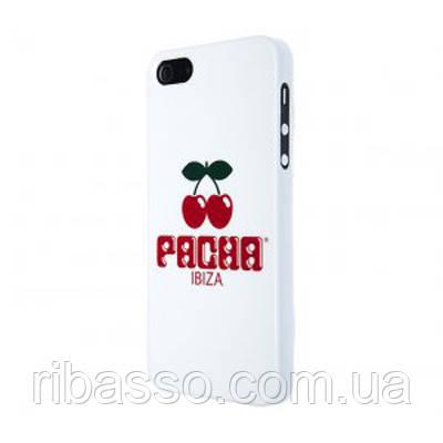 "BENJAMINS Крышка для Iphone 5 ""Pacha logo"", белая"