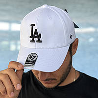 Кепка 47 Brand CLEAN UP DODGERS WHITE