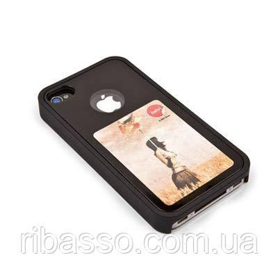 Balvi Крышка для iPhone 4, черная