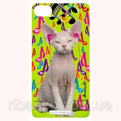 """Memory Technology 3-D вкладыш для iPhone """"Music cat"""""""
