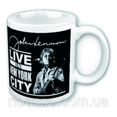 "Кружка в коробке ""John Lennon: Live New York City"""