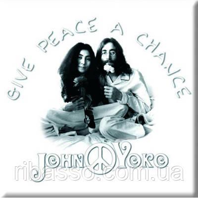 """Магнит """"John and Yoko: Peace"""""""