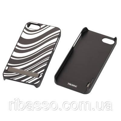Troika Крышка для iPhone 5 Black & White