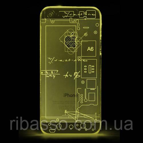 "Thumbs Up Чехол для iPhone 5 ""iLight"", светящийся в темноте"