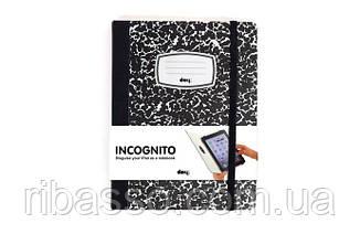 Обложка для ipad Инкогнито, черная